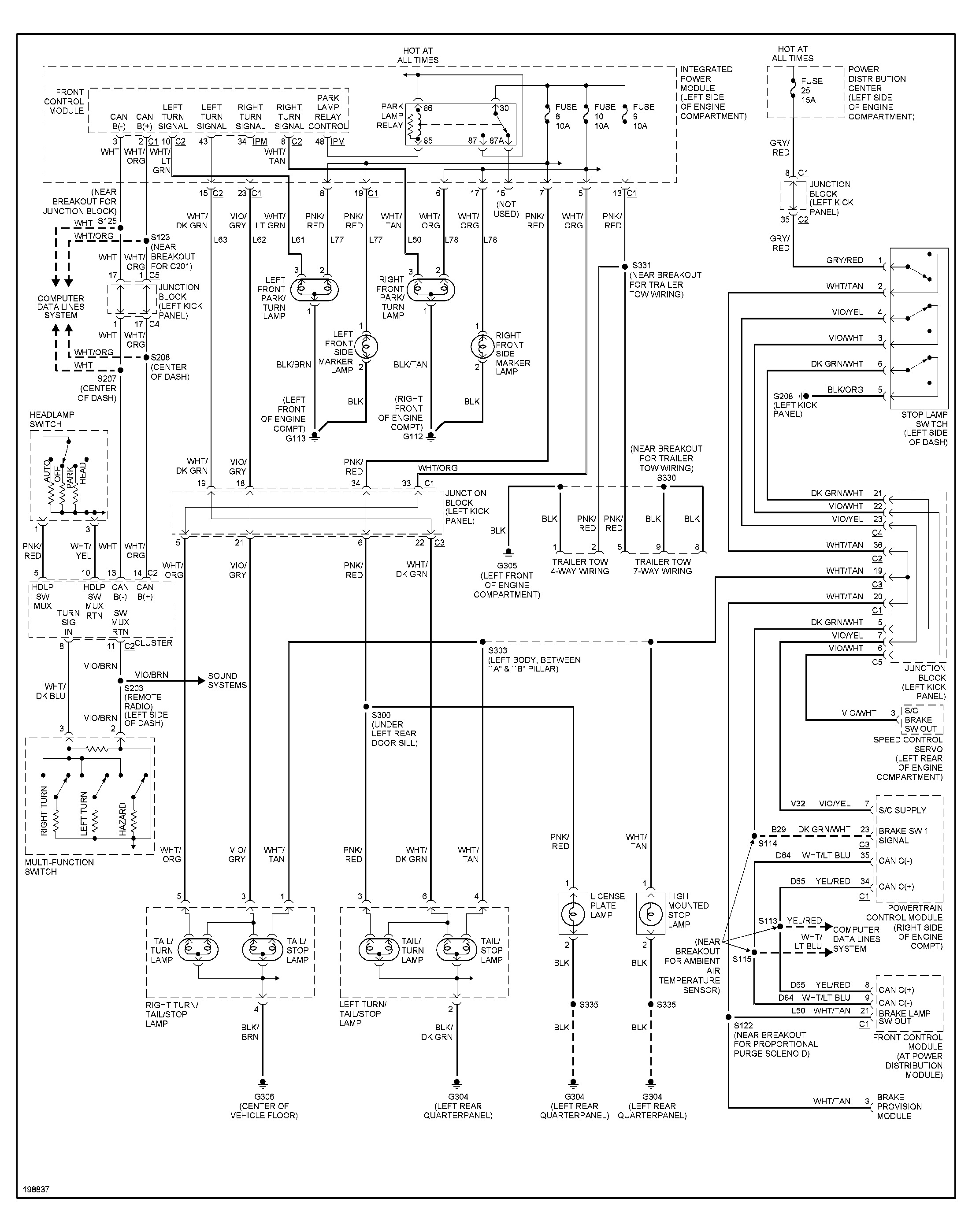 Dodge Dakota Wiring Schematic
