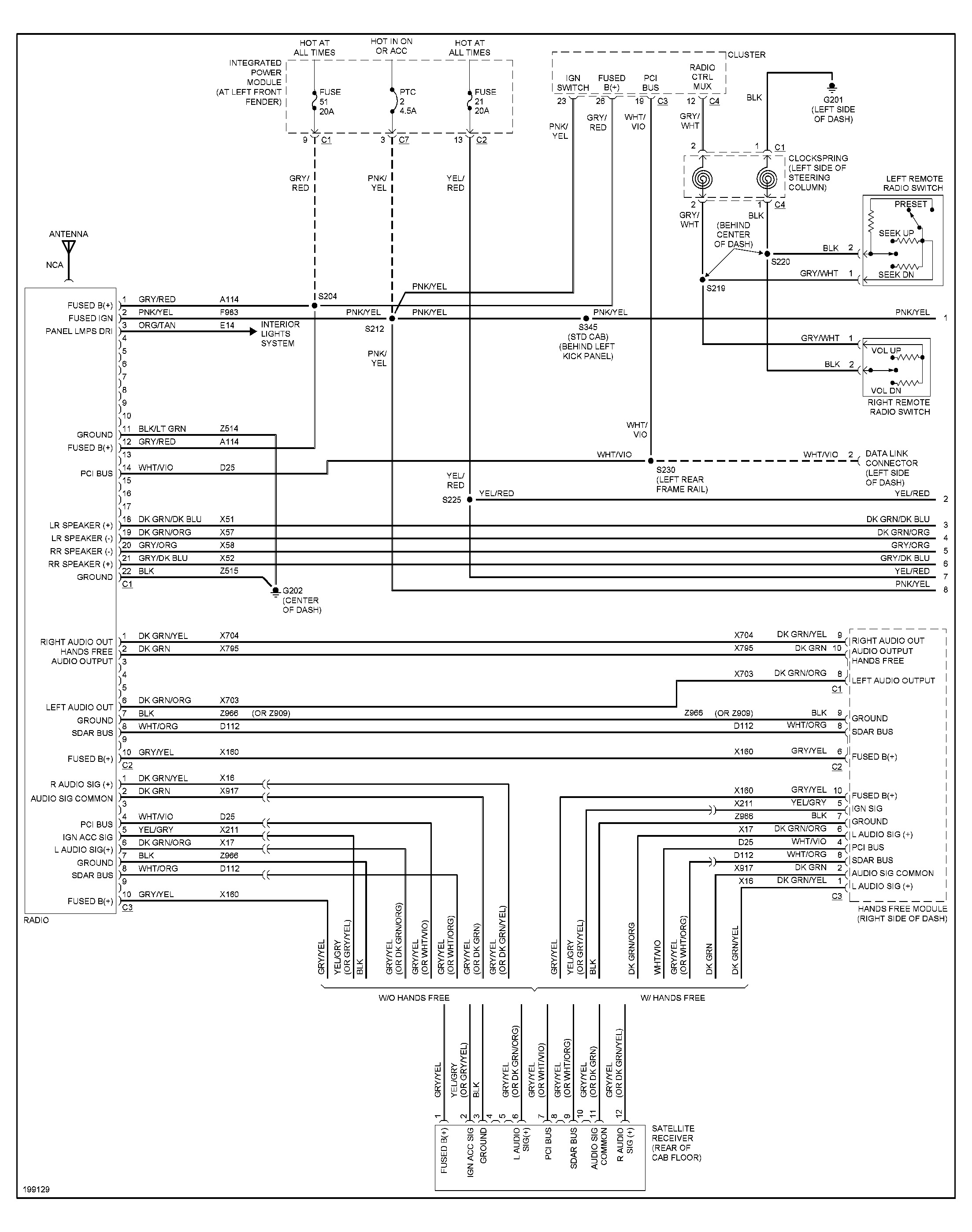 Dodge Ram I Need A Stereo Wiring Diagram