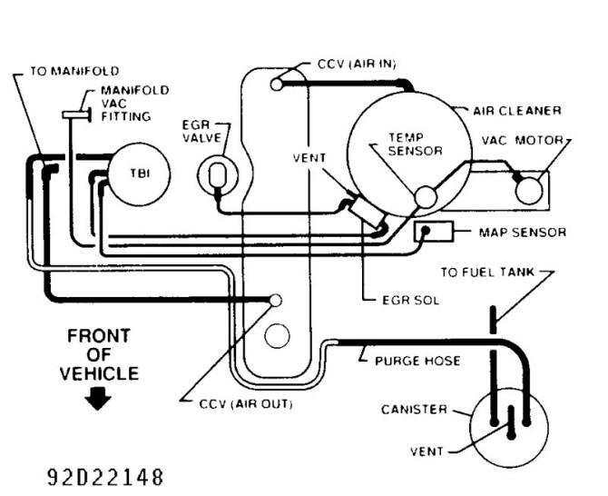1999 blazer vacuum hose diagram  explore schematic wiring