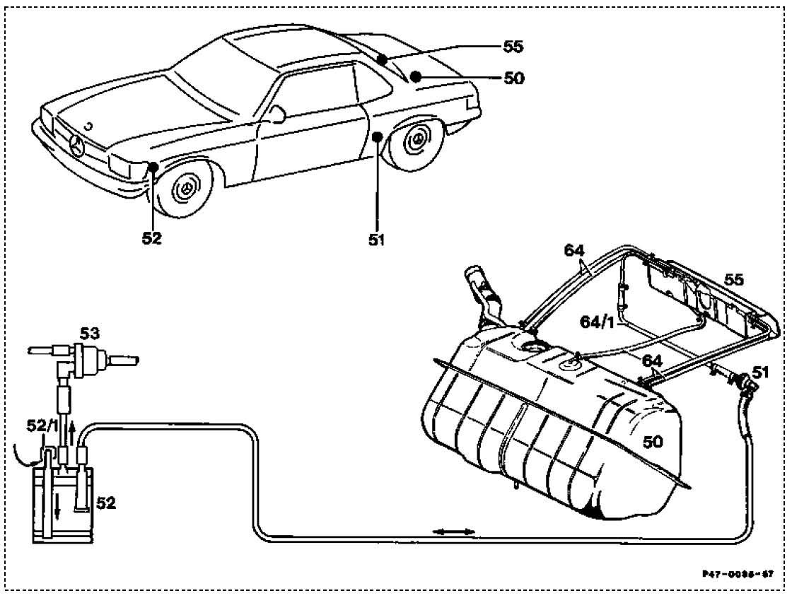 Mercedes 107 Wiring Diagram