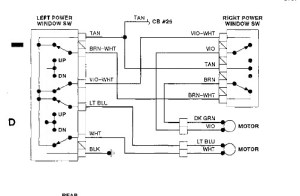 1991 Plymouth Voyager Fuserelay: I Need to Know Layout of