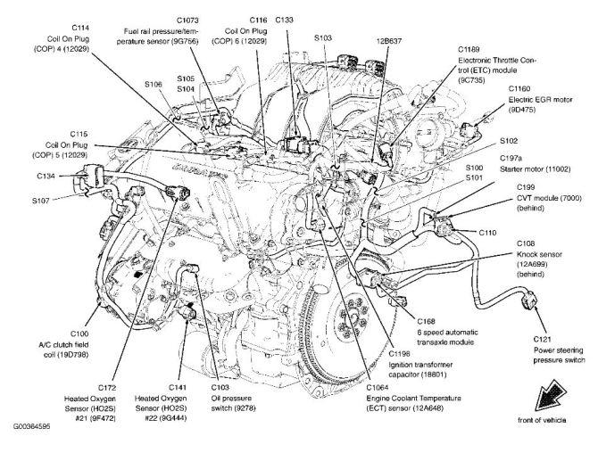 2005 ford 500 engine diagram  wiring diagram diodetools