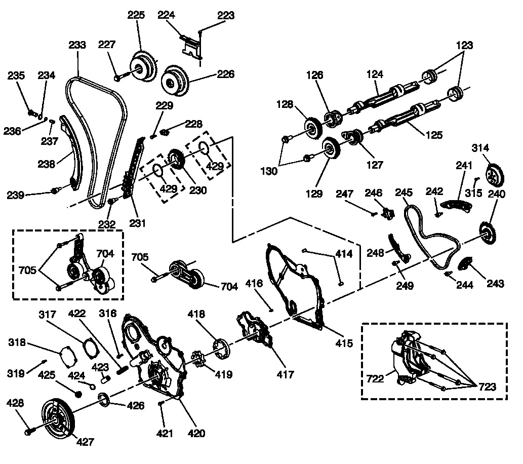 chevrolet malibu timing chain diagram timing chain