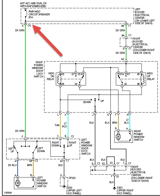 power window switch wiring diagram wiring diagrams 1989 toyota ry electric window will not do down gm power window wiring diagram nilza source power window motor wiring diagram nilza