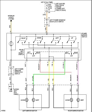 Power Window Switch Wiring Diagram: Swapped Out Doors on