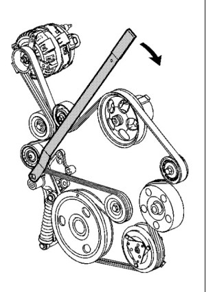 Serpentine Belt Diagram Please: I Have the SS Model with a