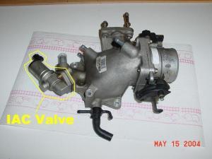 1999 Ford F150 Hose Near Iac: I Have a 1999 F150 54 V8