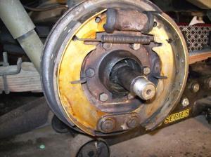 1998 Ford F150 Rear Brake Adjusting Cable: My Rear Truck Brake