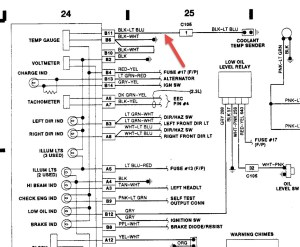 Instrument Cluster Wiring: I Was Needing a Diagram with