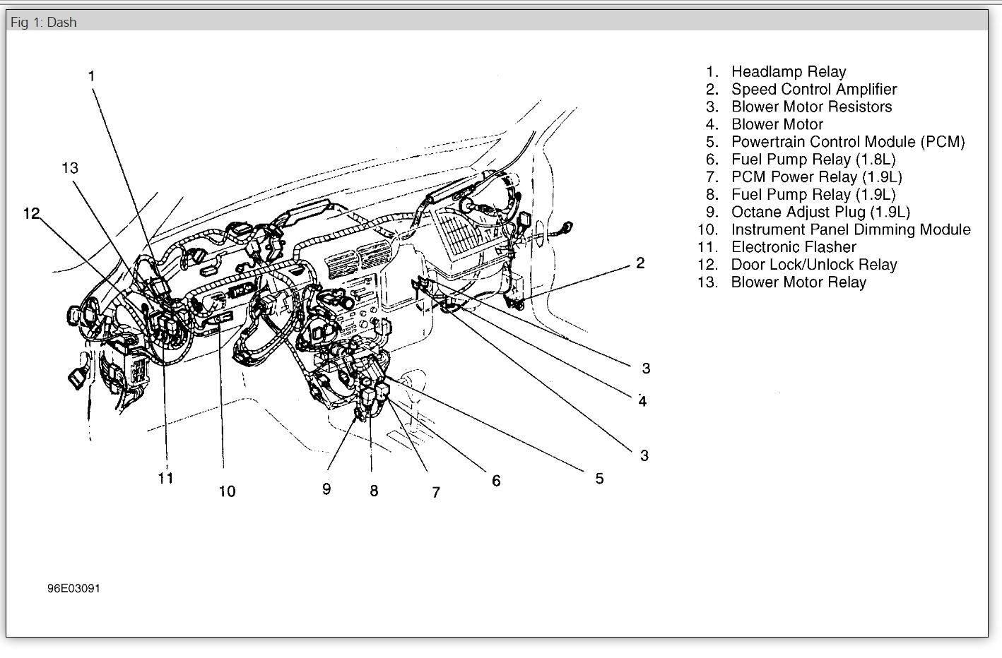 Ford Escort Zetec Wiring Diagram