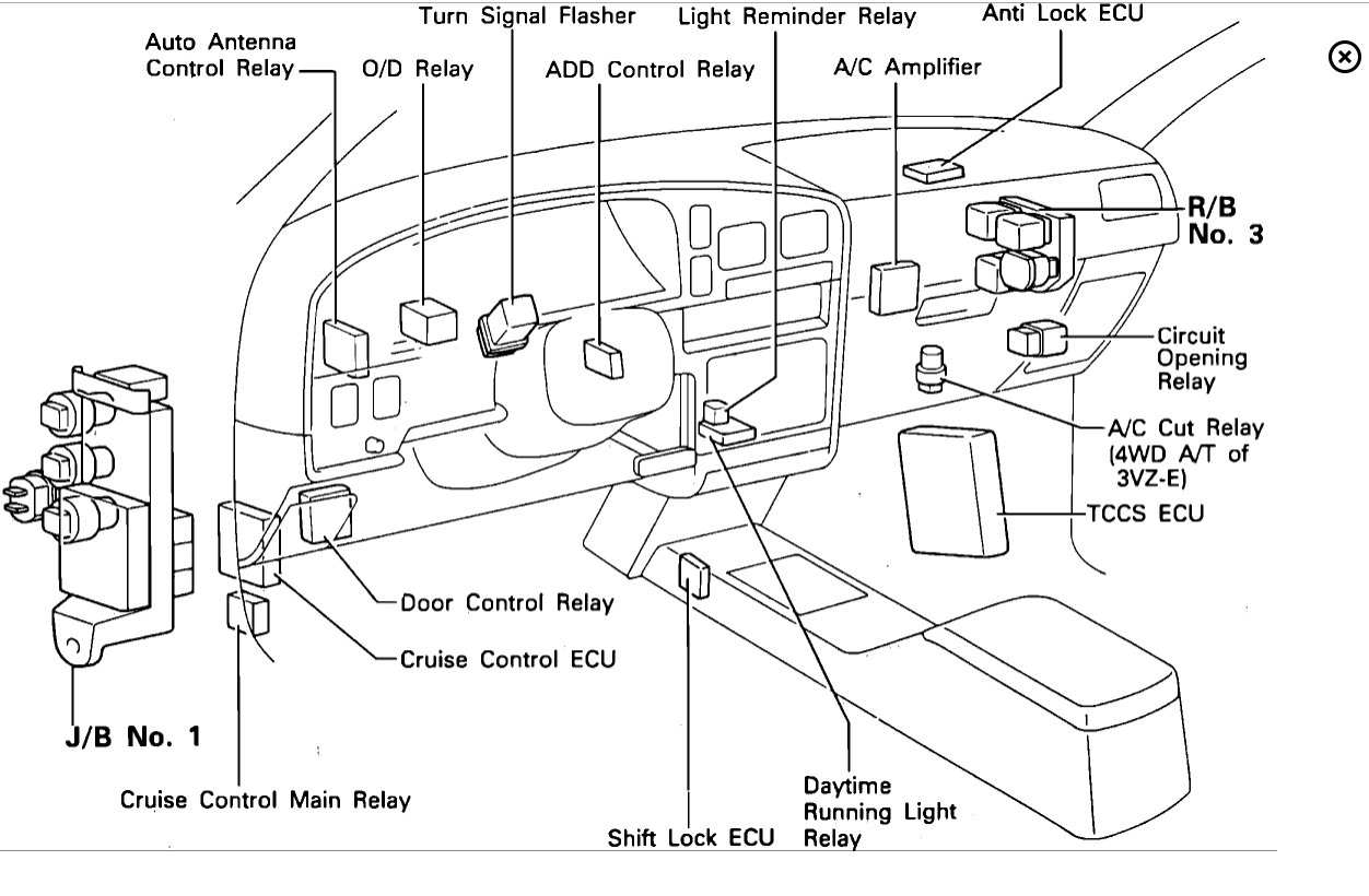 Toyota Ac Diagram | Wiring Diagram Database