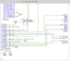 Radio Wiring Diagram: Electrical Problem 2000 Chevy