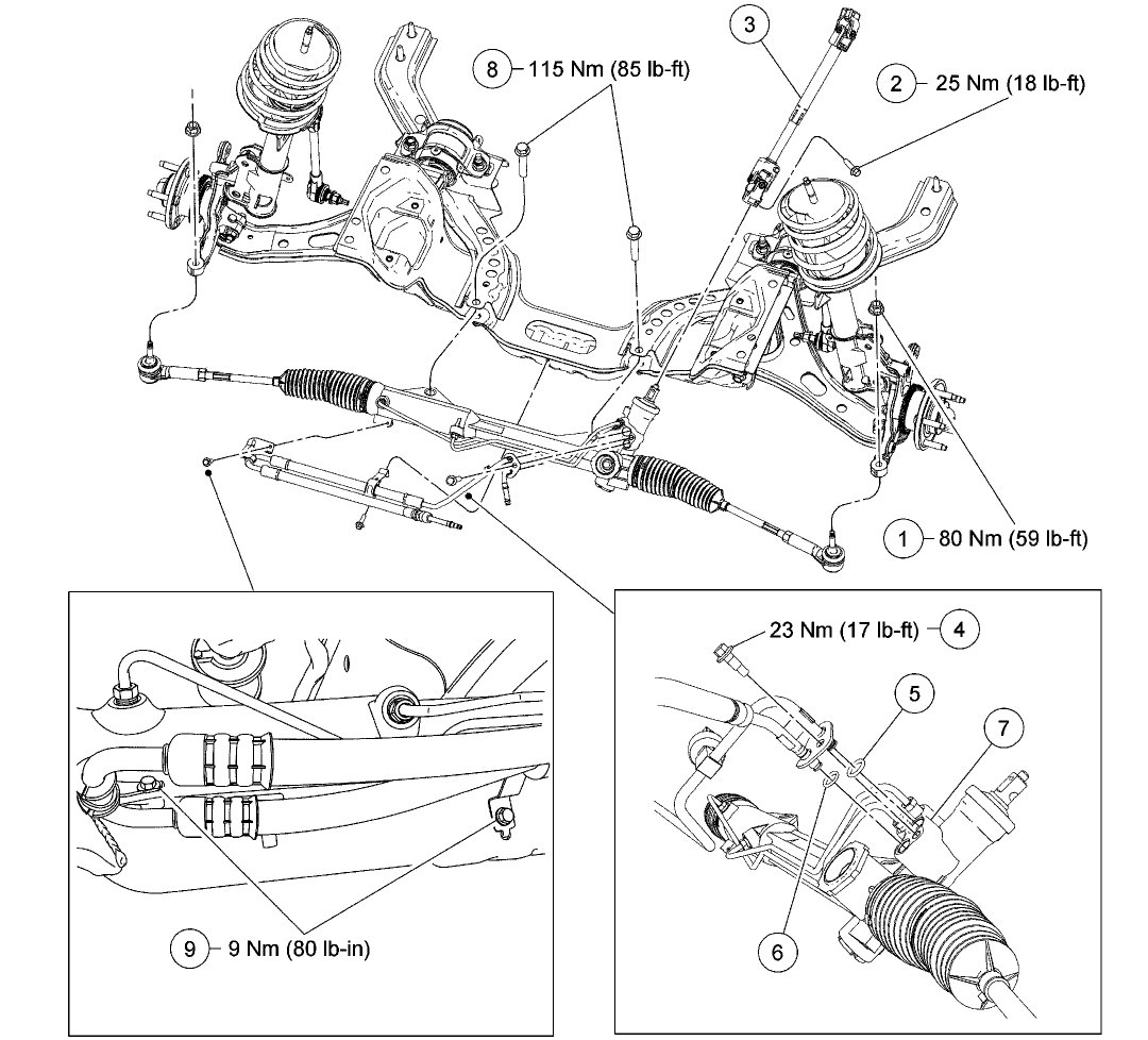 Power Steering Rack And Pinion Assembly I Would Like To