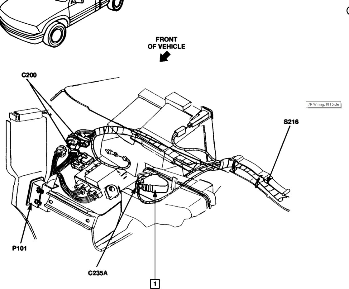 Heater Core Gmc Jimmy Engine Diagram