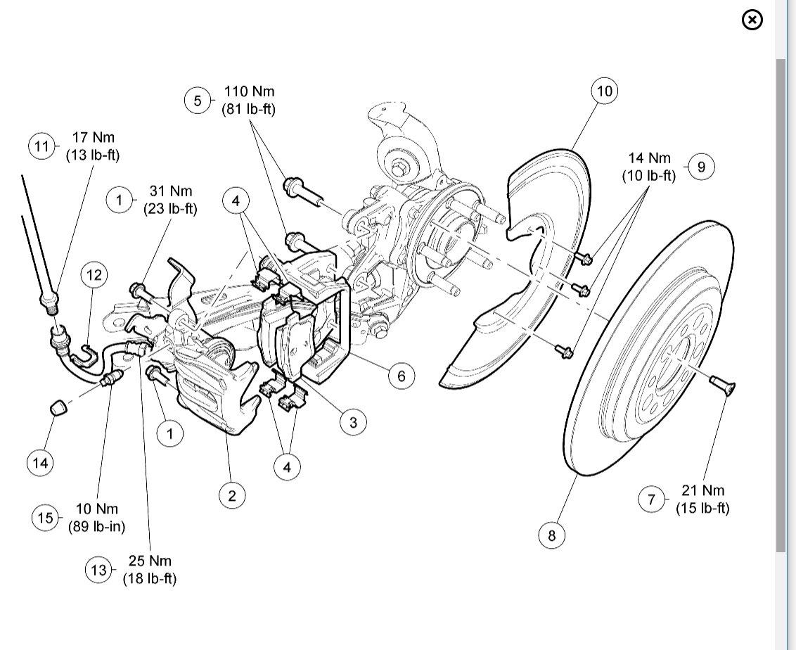 Emergency Brakes Brakes Problem 6 Cyl Two Wheel Drive