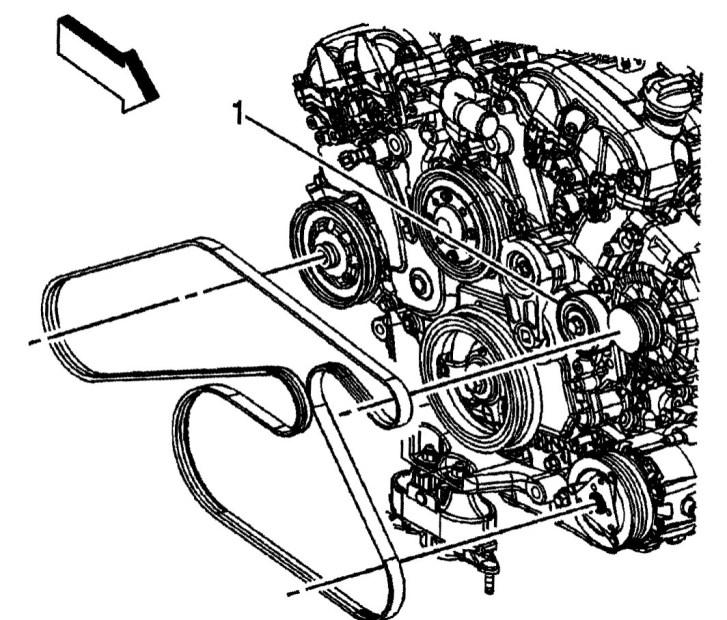 2008 Buick Enclave 36 Belt Diagram