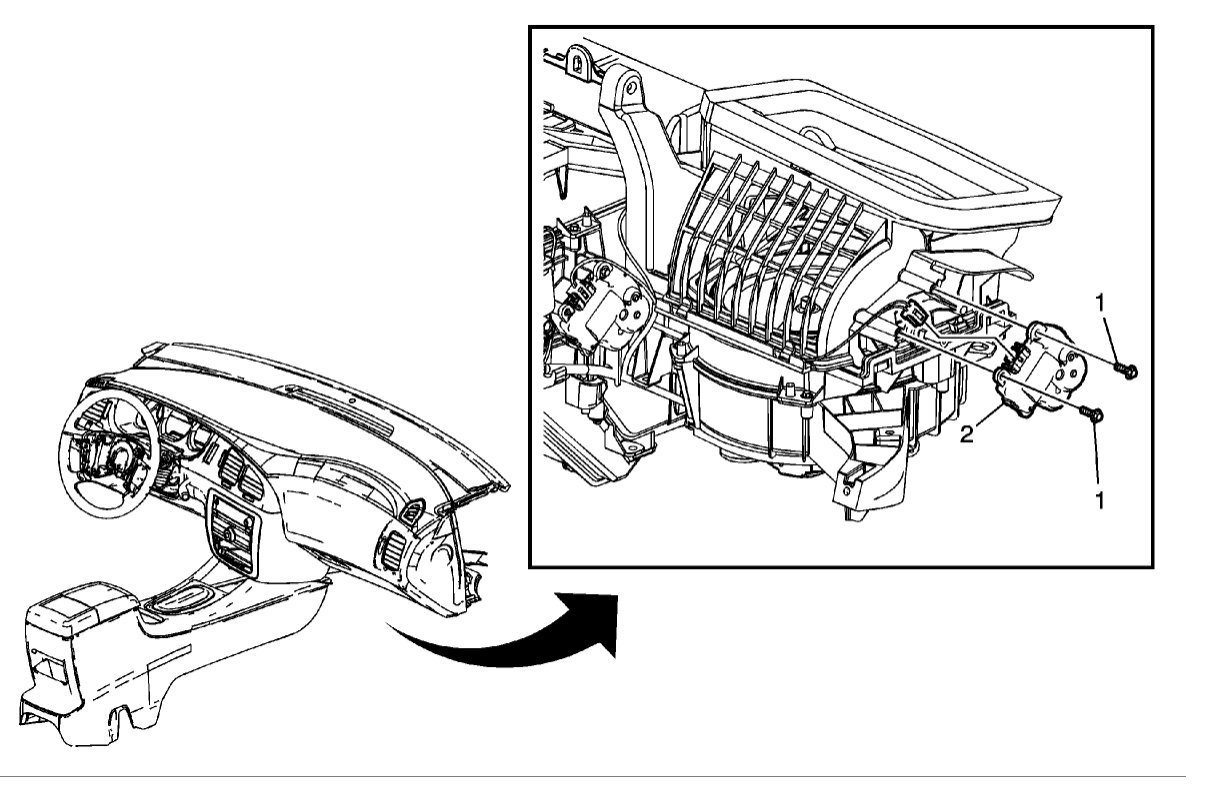 Door Actuator Knocking Noise Coming From Glove Compartment