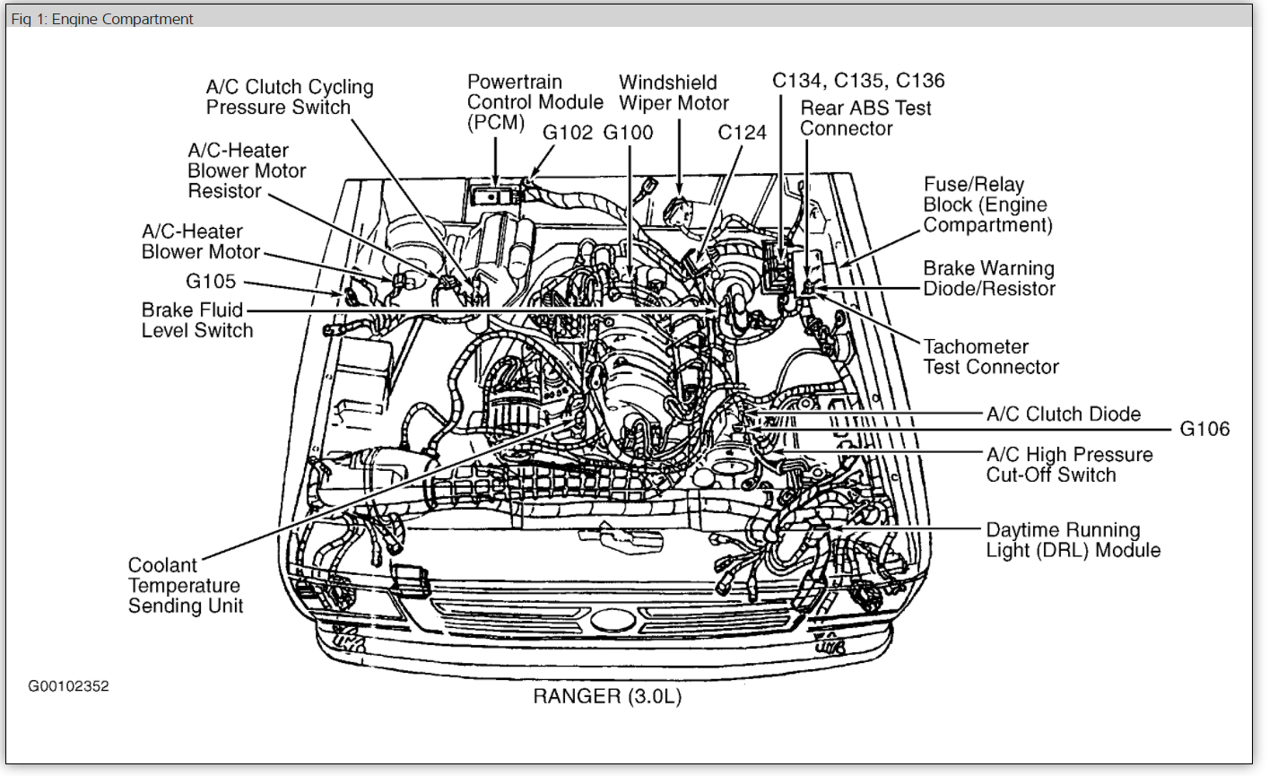 Diagram Of Ford Explorer Engine
