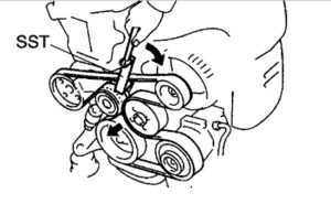 Toyota Camry Belt Diagram: How to Replace Belt on 2002