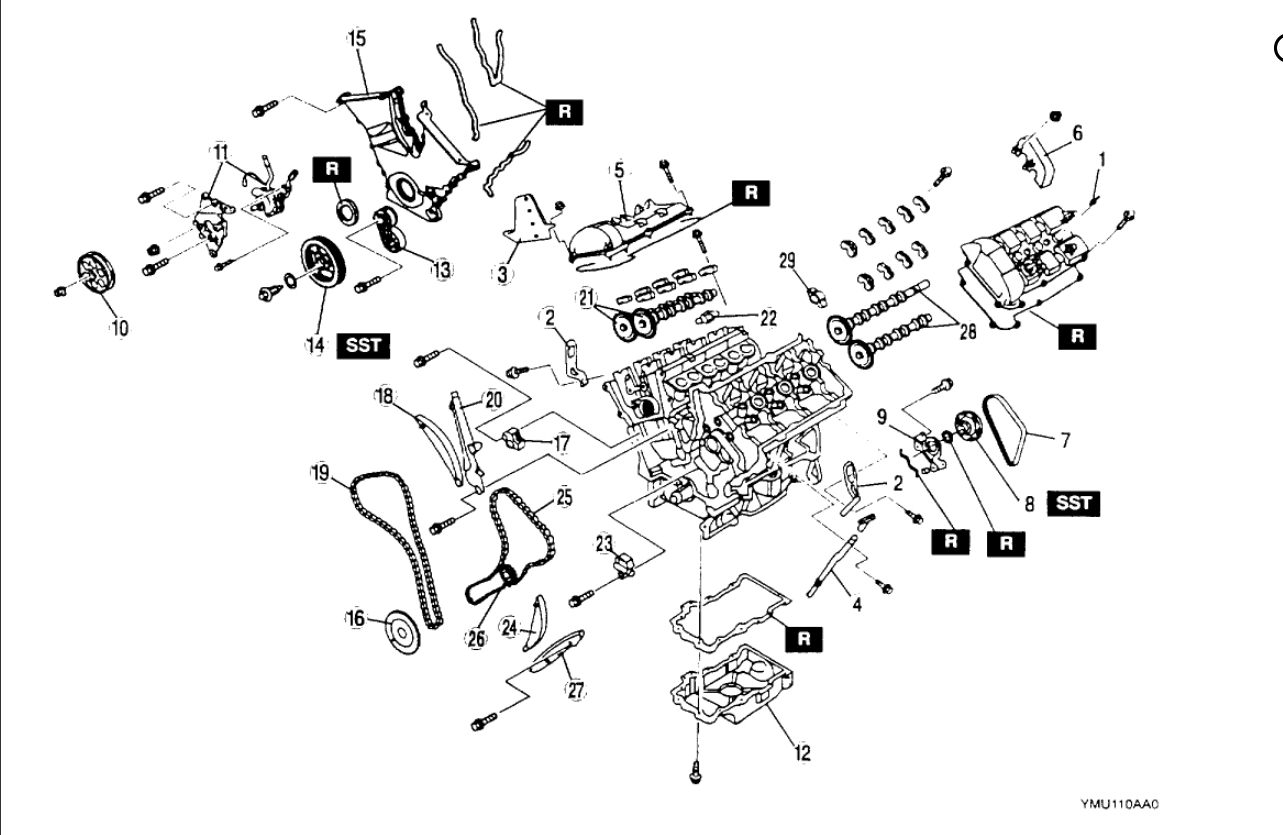 Timing Chain Diagram Timing Chain Diagram For Mazda