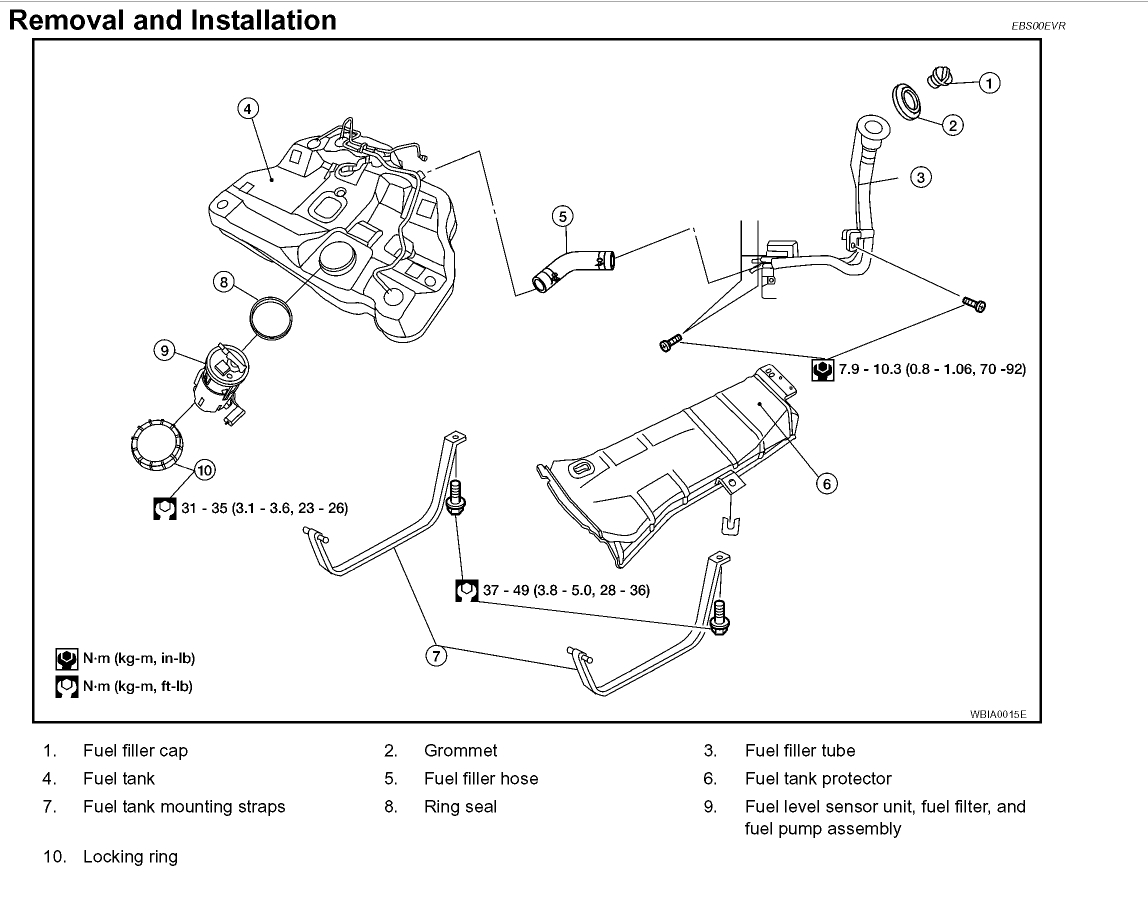 Nissan 350z Fuel Filter Location