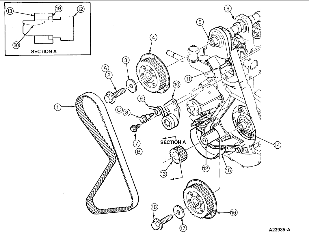 Ford Ranger Timing Marks Diagram - Wiring Diagrams ROCK