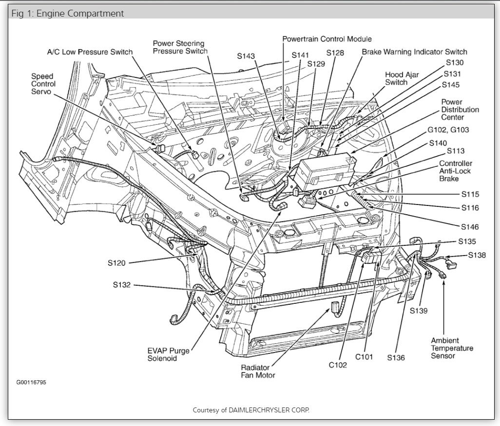 Diagram Pt Cruiser Wiring Harness Full Version Hd