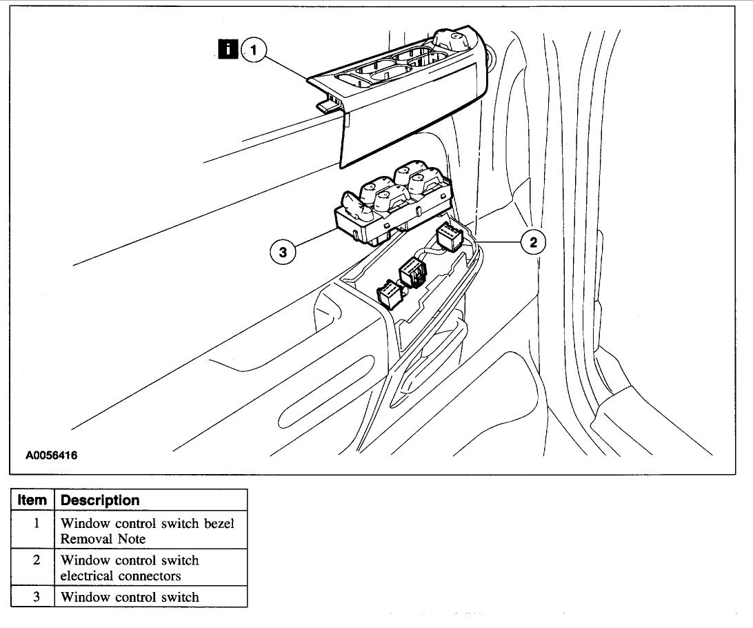 Mercury Mountaineer Window Wiring Diagram