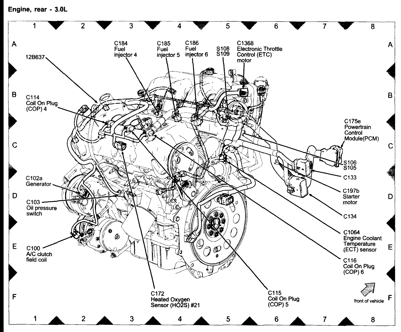 Lincoln Zephyr Engine Diagram