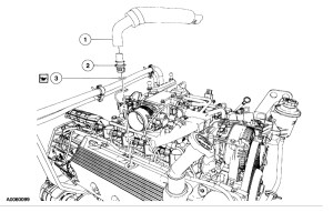 Where Is Pcv Valve Located: 6 Cyl Two Wheel Drive