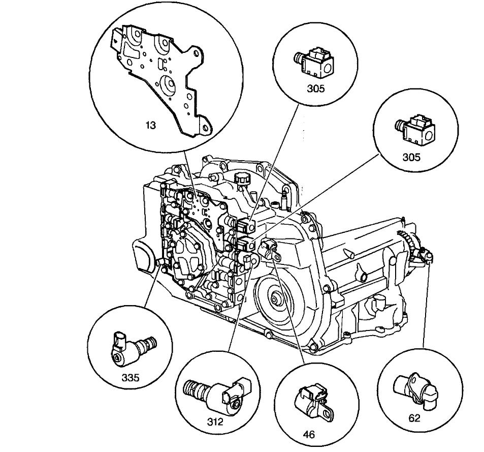 Array chevy cavalier trac off light transmission problem chevy cavalier