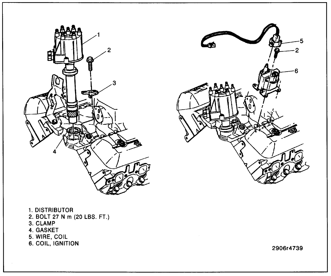 454 Chevy Engine Diagram