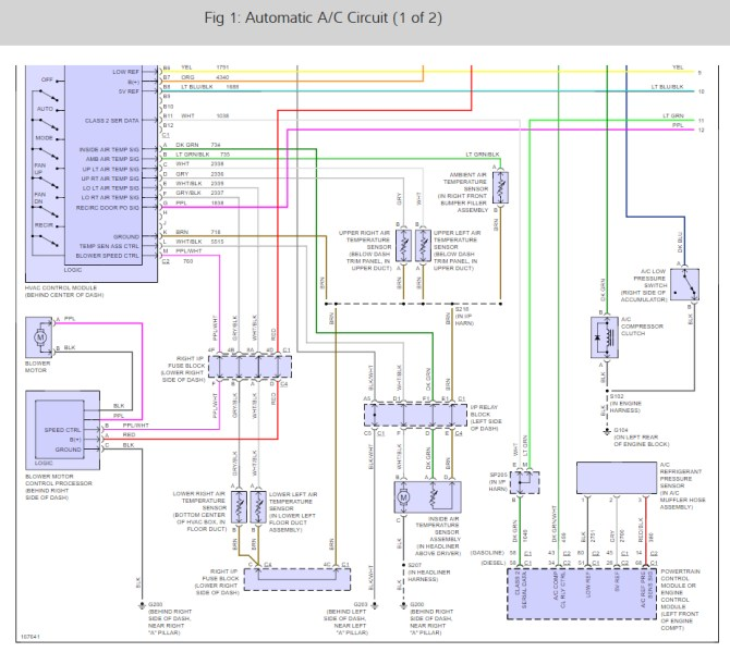 chevy ac compressor wiring diagram  description wiring