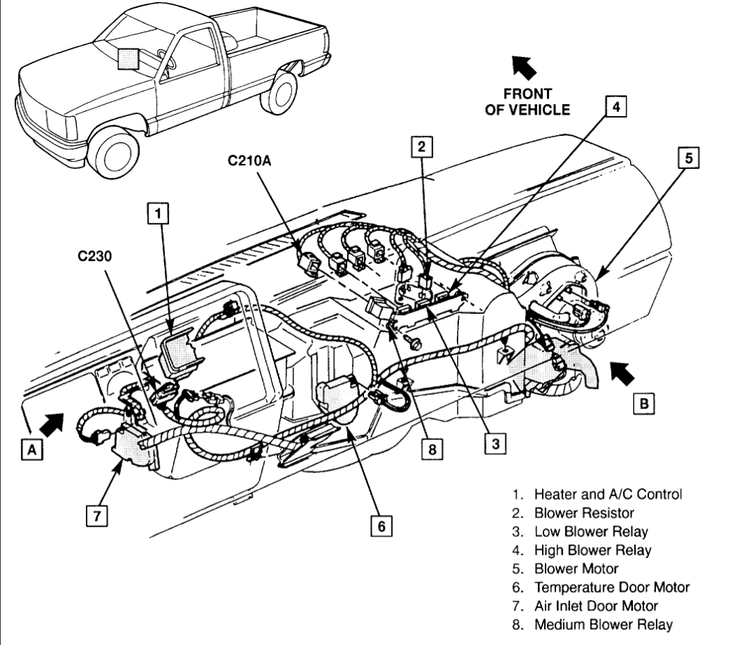 Chevy S10 4wd Wiring Diagram