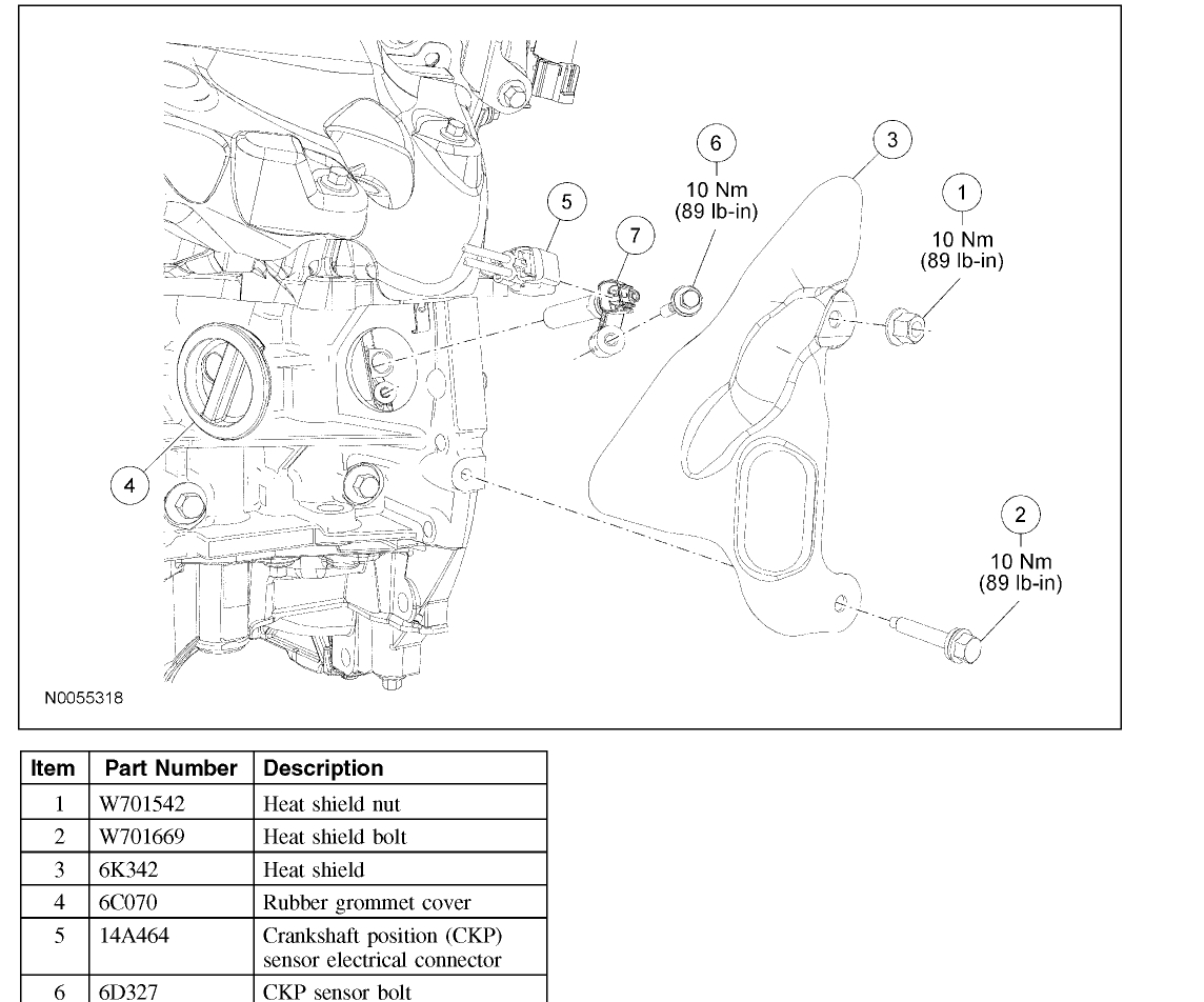 Cam Sensor For Pontiac G6 Engine Diagram