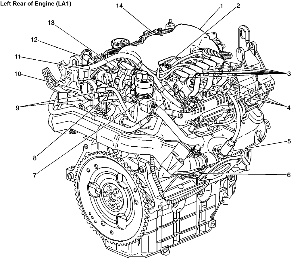 Chevy Impala Engine Diagram