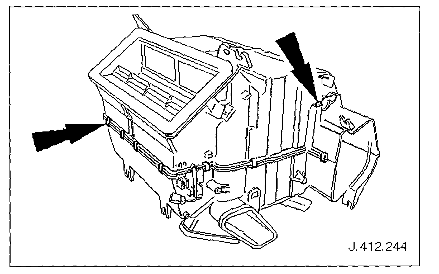 Air Handler Duct Assembly Diagram My Wife S Jaguar Xj8