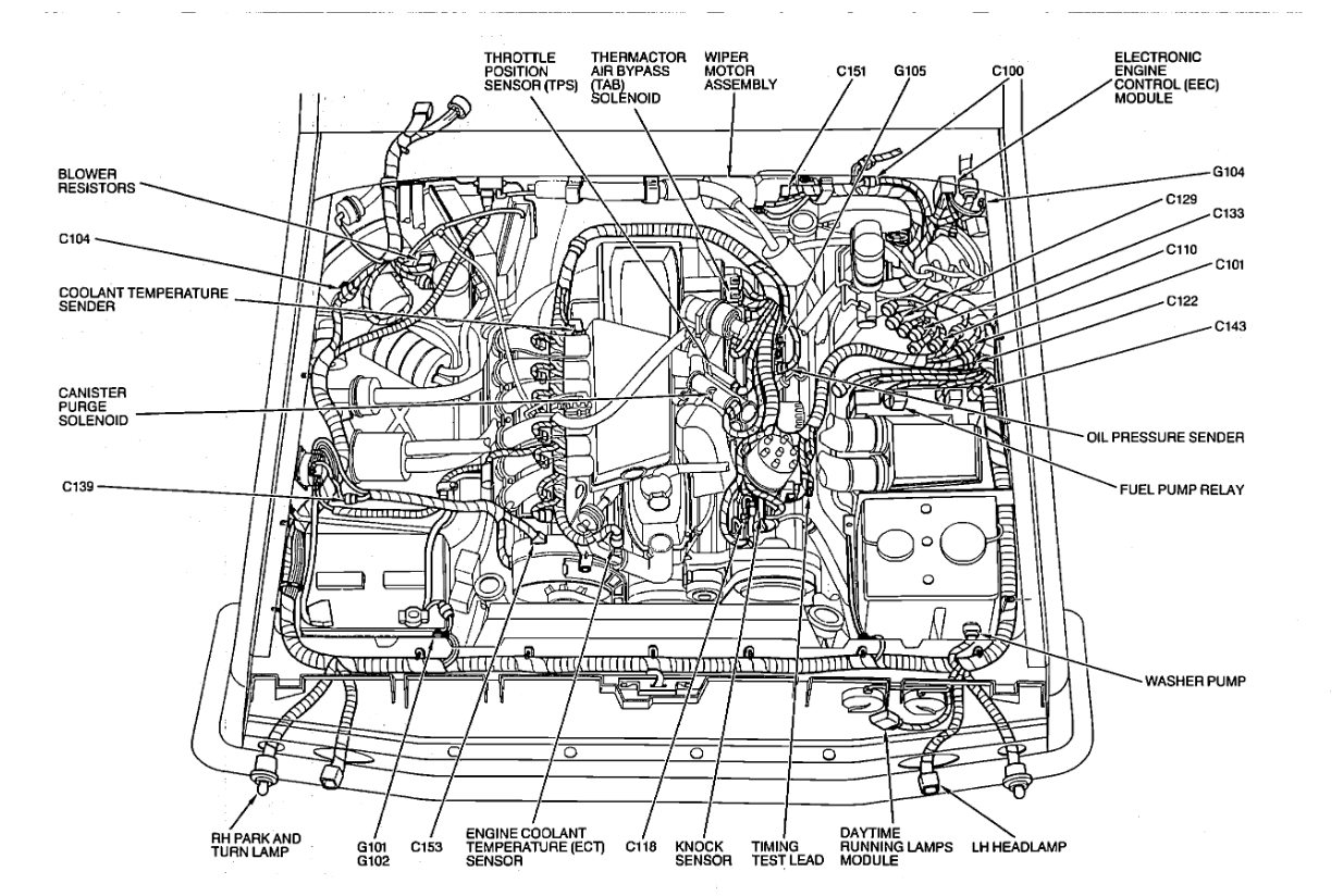 Ford F350 Fuel Line Diagram