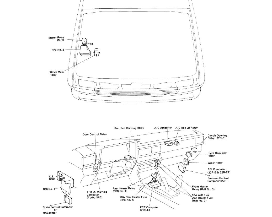 Toyota Pickup Starter Wiring Diagram