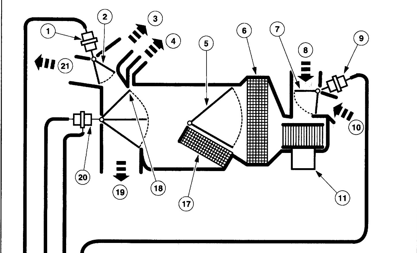 Ford Expedition Heater Core Hose Diagram