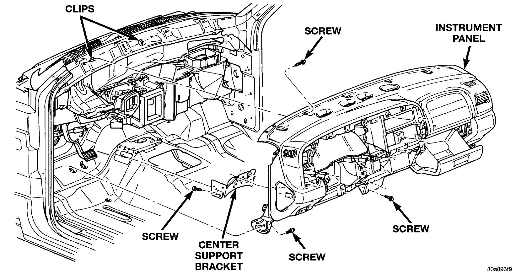 31 Dodge Durango Heater Hose Diagram