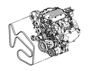 Serpentine Belt Diagram Please: I Have the SS Model with a