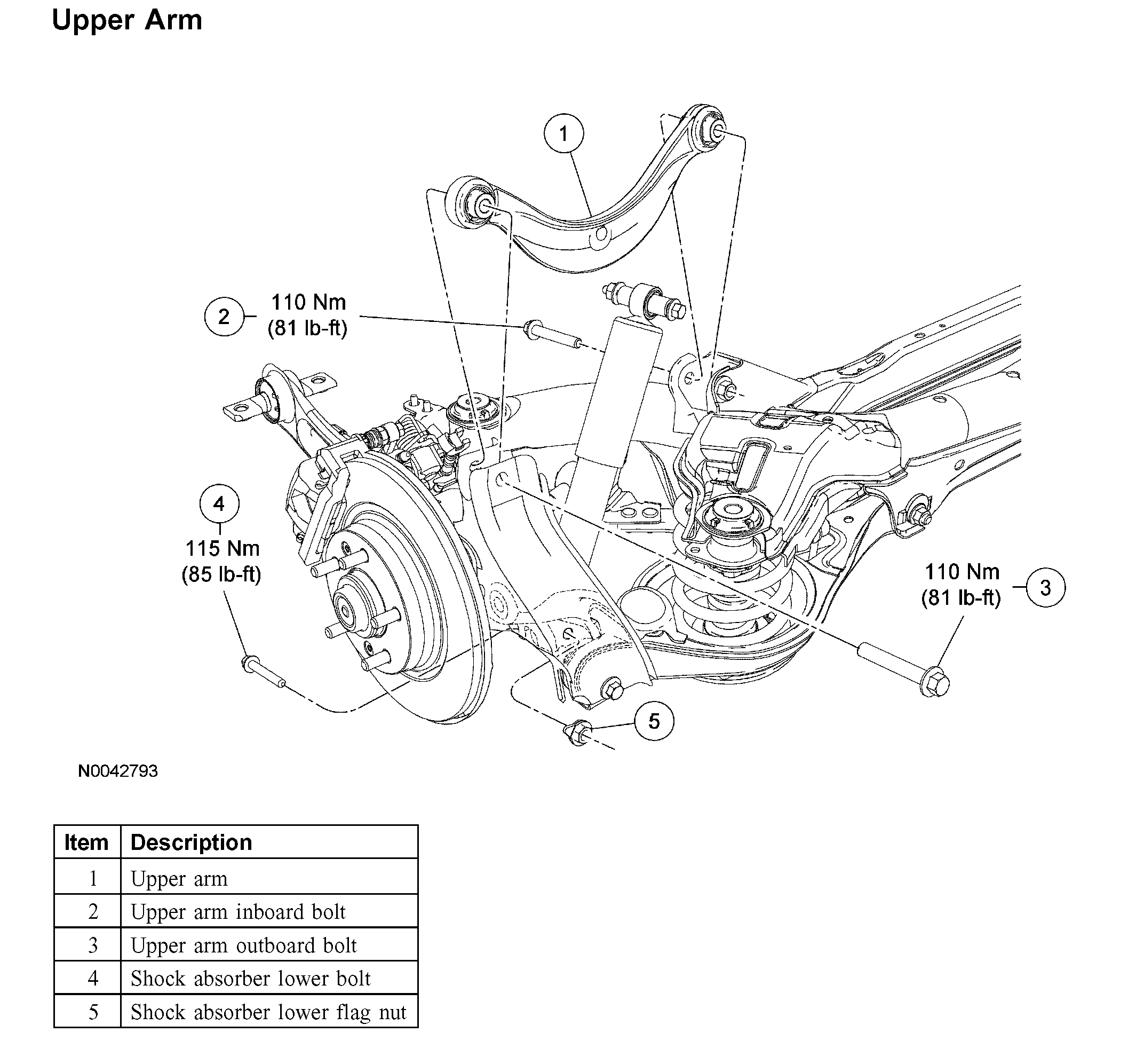 Torque Specs Need Help Getting Lower Control Arms Torque