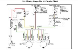 2000 Mercury Cougar Alternator Wiring | Wiring Diagram