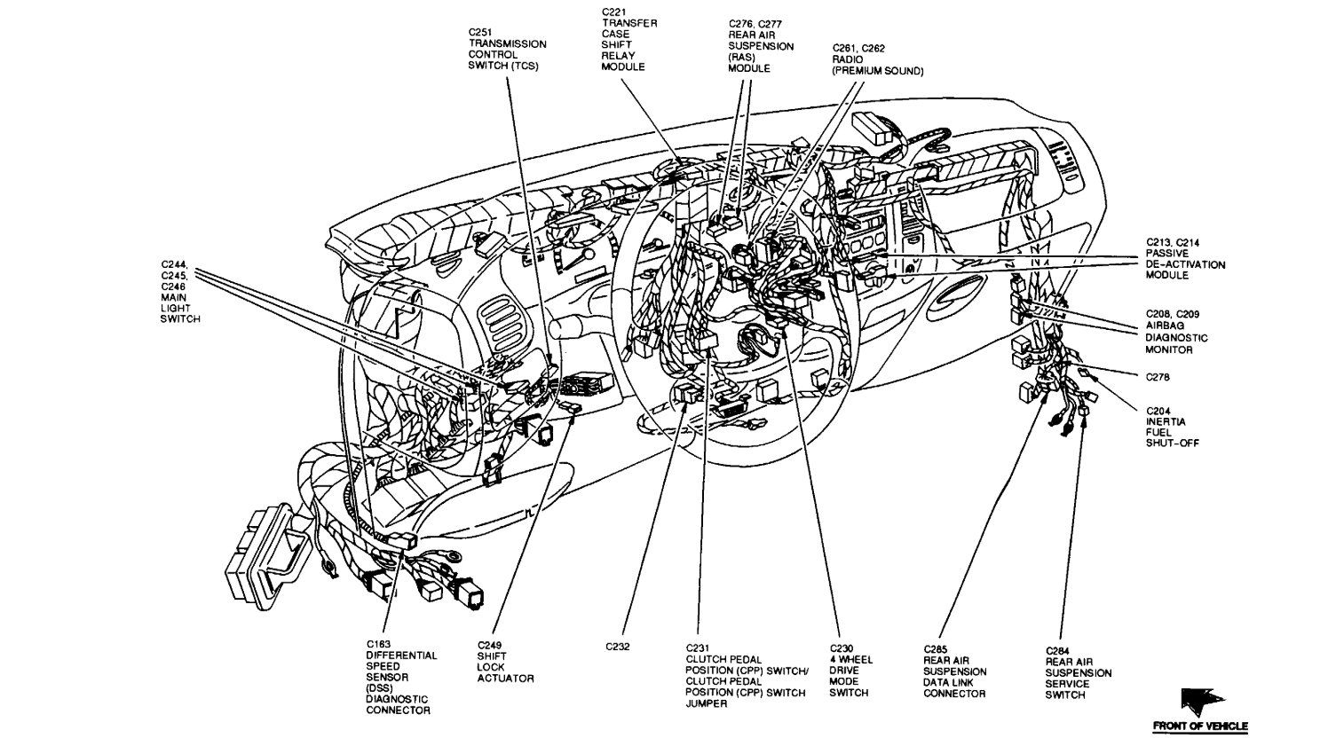 Diagram Ford F150 Transfer Case Diagram Full