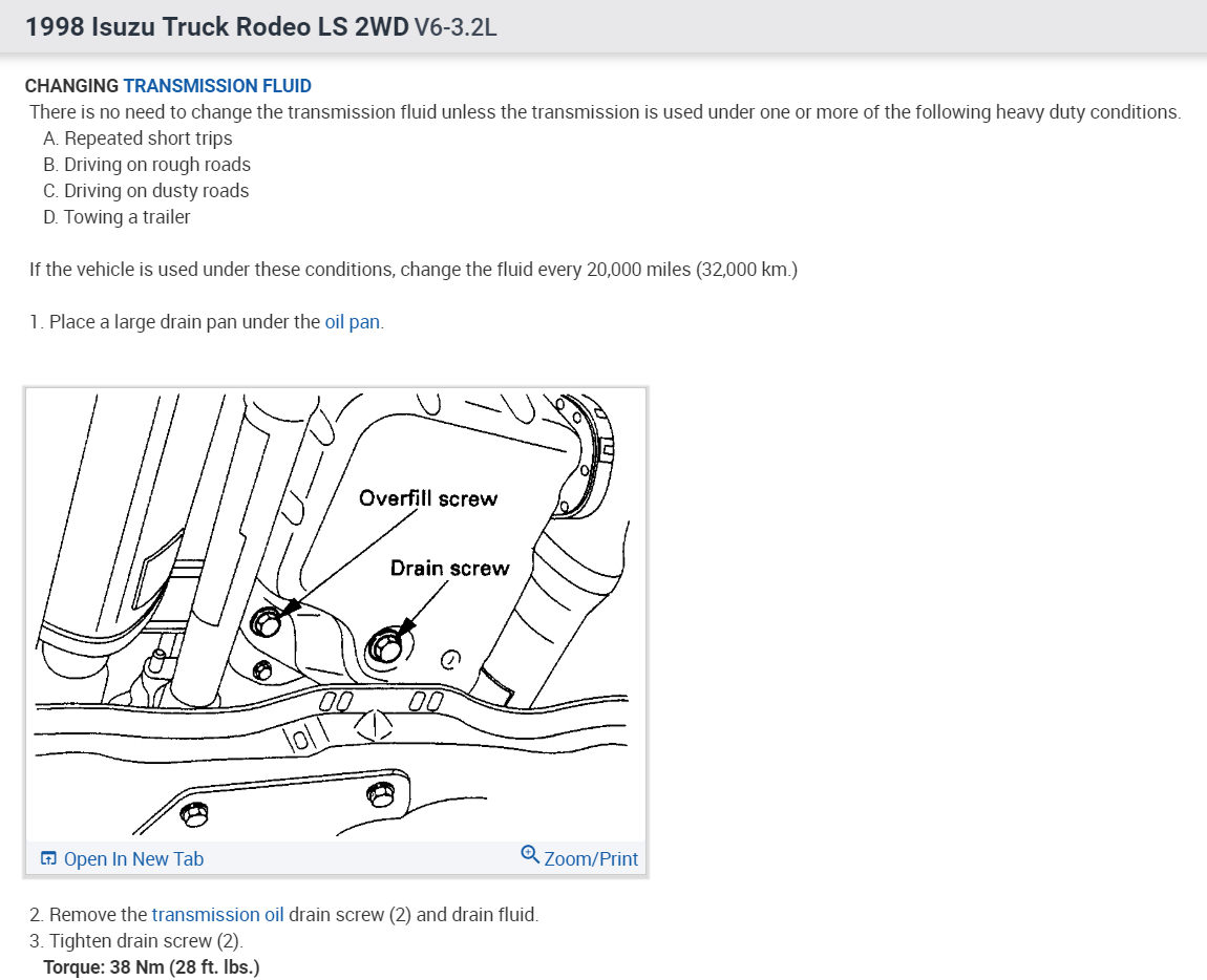 Location Of Transmission Dipstick Needed Cannot Find