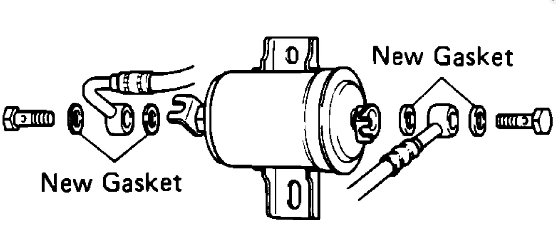 Fuel Filter Where Is The Fuel Filter Located On A