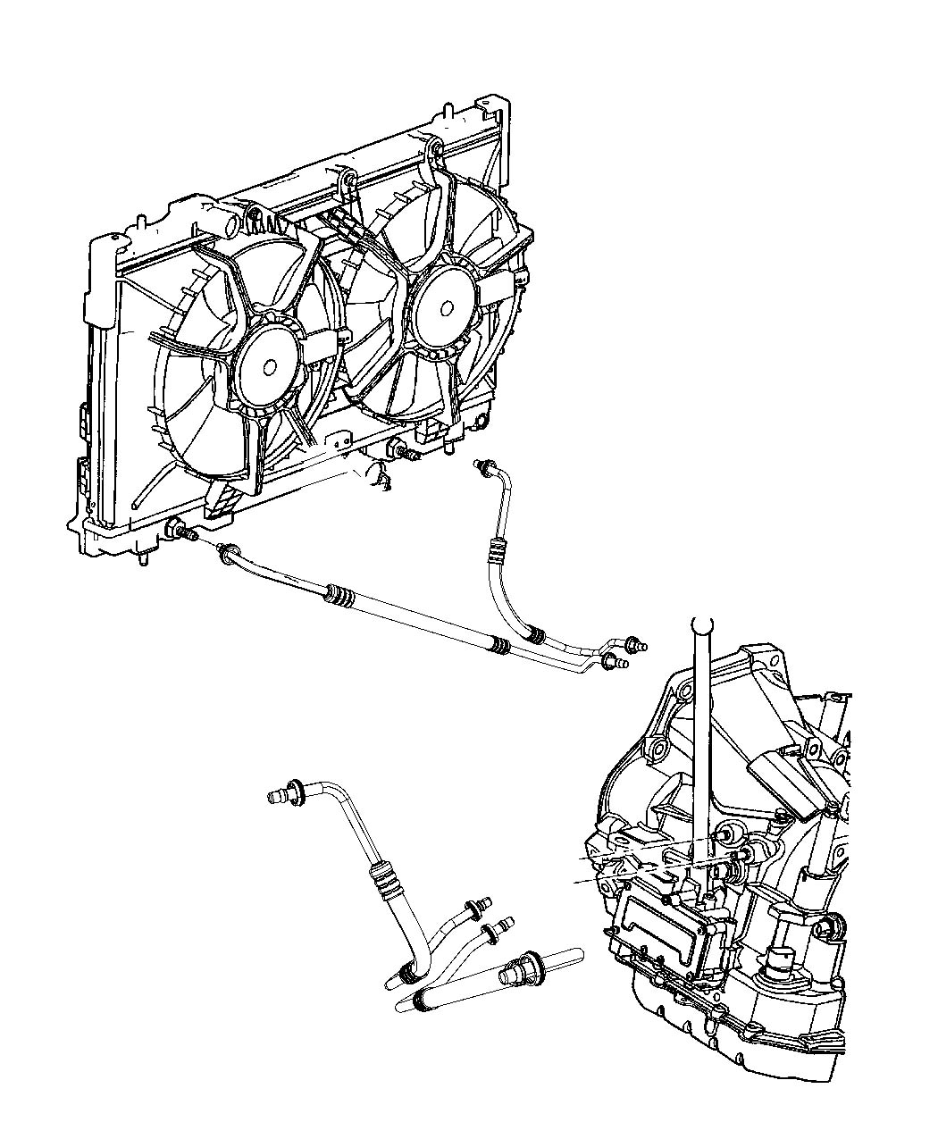 Diagram For Dodge Neon Radiator