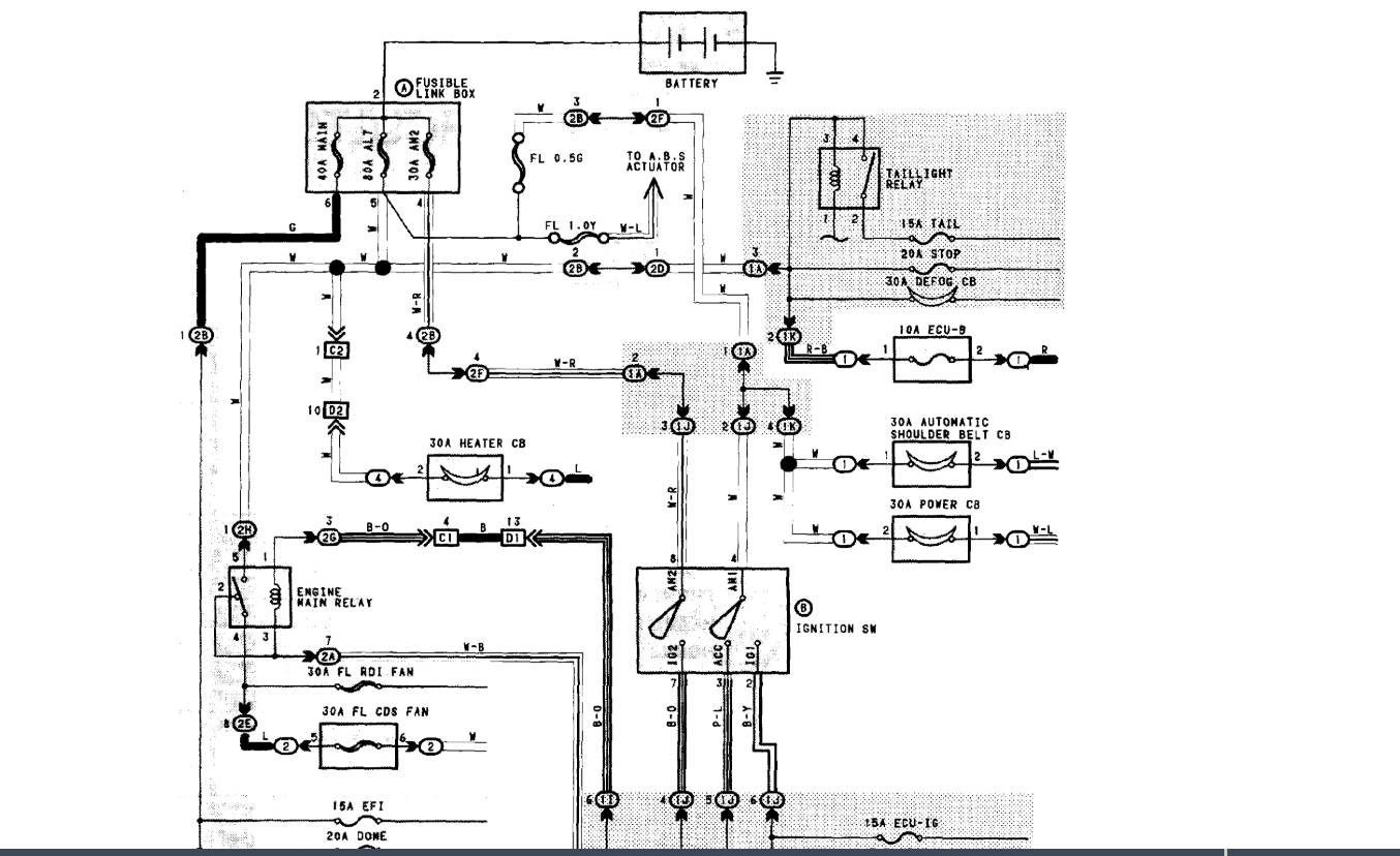 Diagrams For Under The Hood Electric I Need The Wiring
