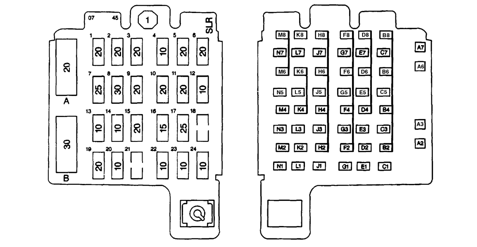 Fuse Box Diagram Needed Can You Help Me With The Fuse Box